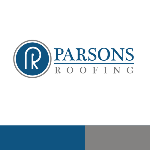 Create a uniquely professional logo for Parsons Roofing.