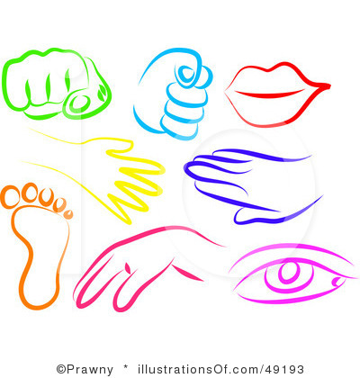 Body part clip art.