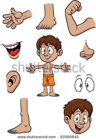 Free body part clipart.