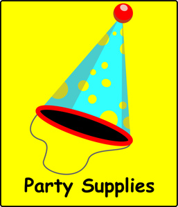 Free Party Clip Art Image.
