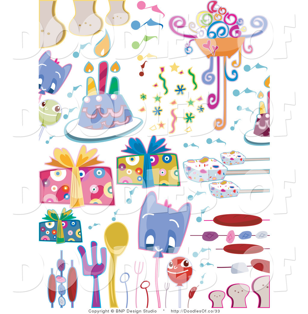 Party Supplies Clipart (32+).