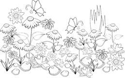 Parterre Stock Illustrations.