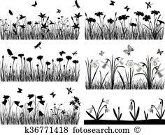 Parterre Clipart Illustrations. 10 parterre clip art vector EPS.