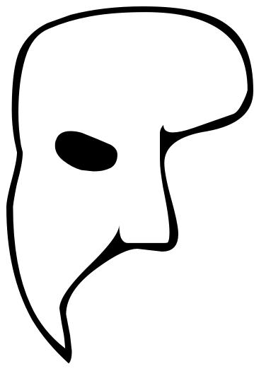 partial mask.