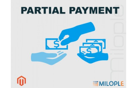 Partial Payment by Milople.