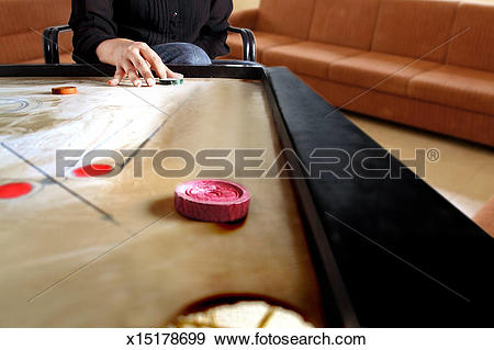 Stock Photograph of Partial view of a hand ready to strike the.