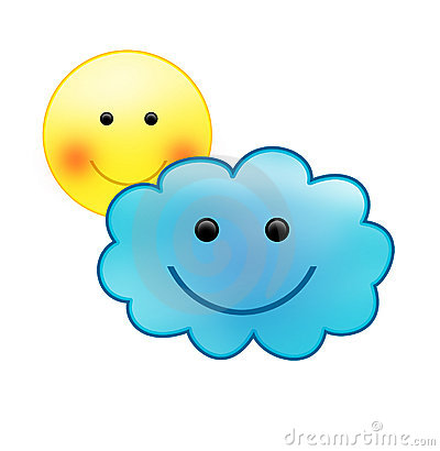 Best Partly Cloudy Clipart #10539.