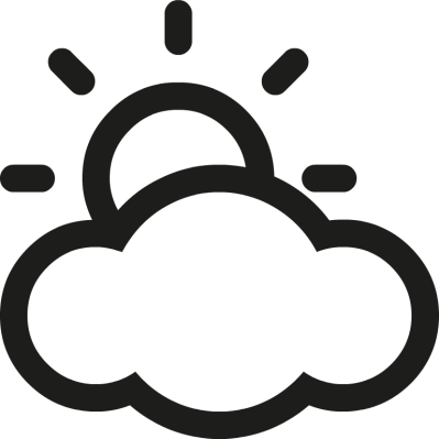 Partly cloudy clipart 13.