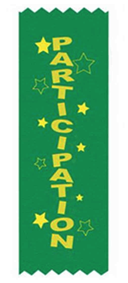 Welcome to the Participation Ribbon Generation.