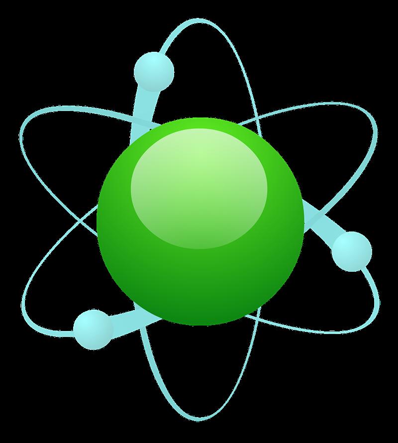 Free Atom Particle Clip Art.