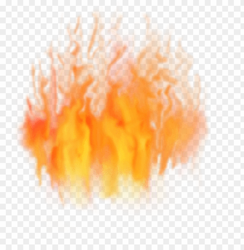 fire particle effect decal.