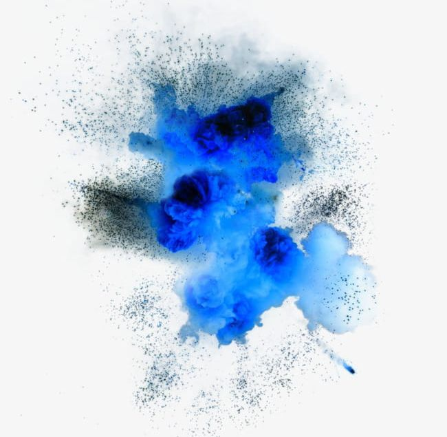 Explosion Particle Effects PNG, Clipart, Blue, Effect.