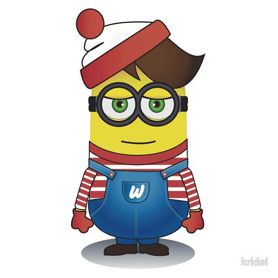 Find Minion Waldo (he's not hiding particularly well, to be honest.