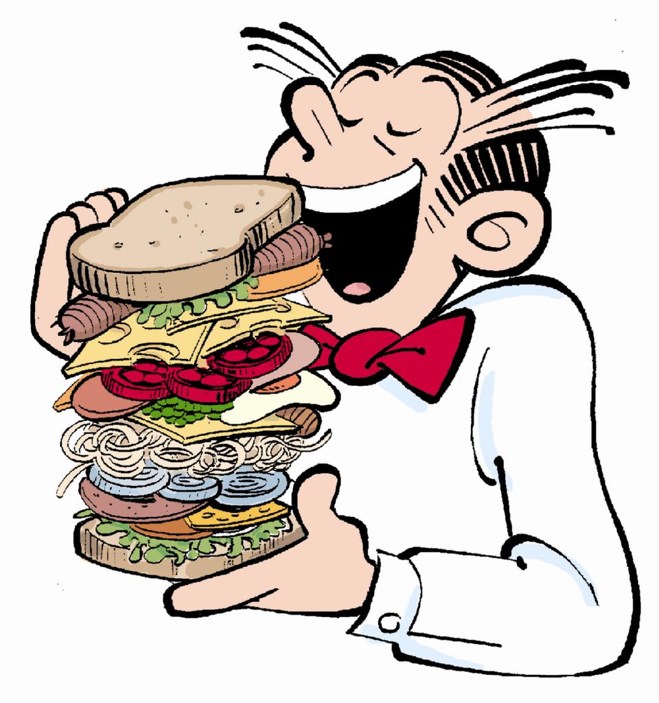 The Sandwich Metaphor.