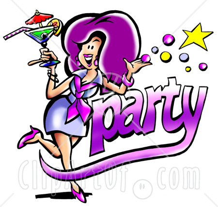 Party Time Clip Art.