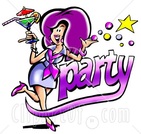 Party Time Clip Art.