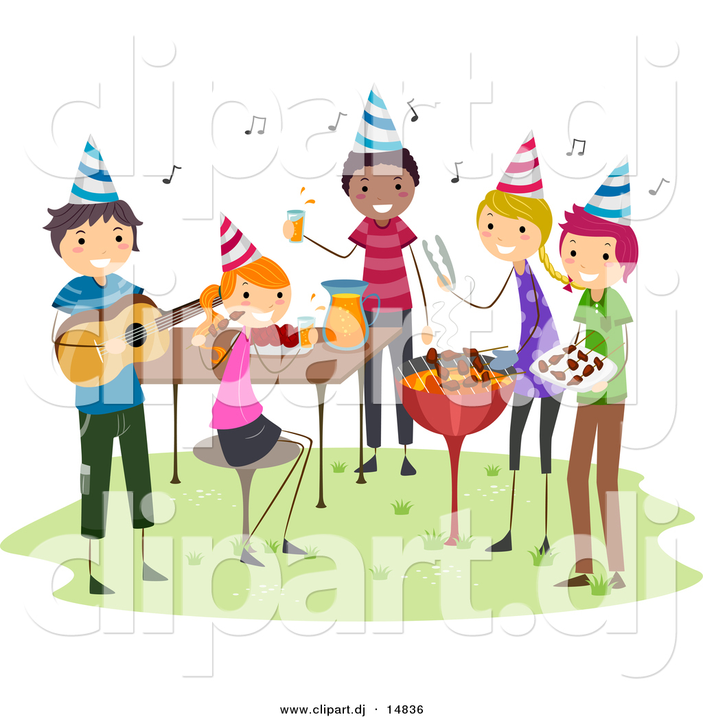 Pictures of parties clipart.