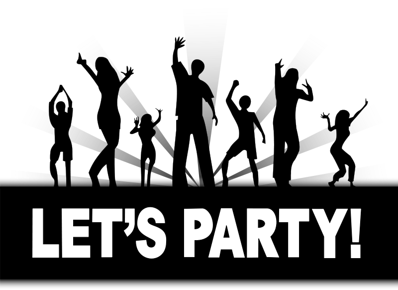 Free Party Clipart.