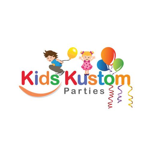 Logo Design for Kids Kustom Parties.