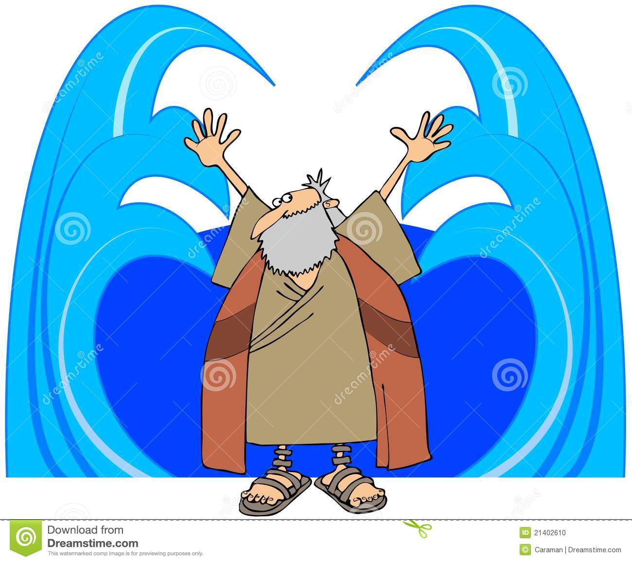 Moses Stock Illustrations.