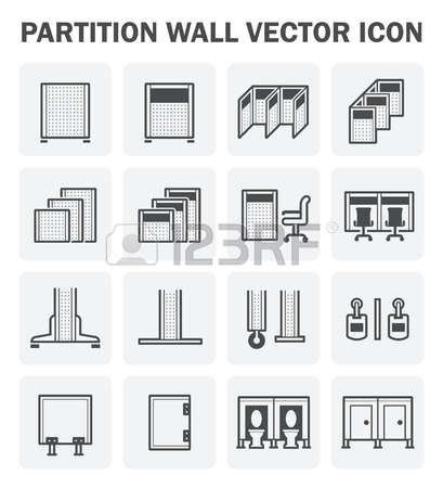 467 Wall Of Partition Stock Vector Illustration And Royalty Free.