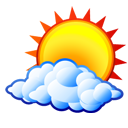 Free Partly Cloudy Clip Art & Icons.