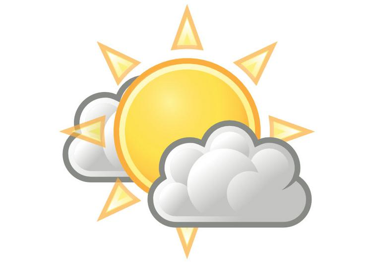 68+ Partly Cloudy Clip Art.