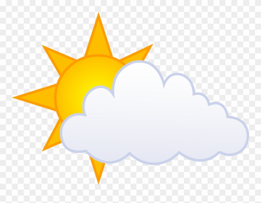 Clipart Of Partly, Cloudy And Comments.