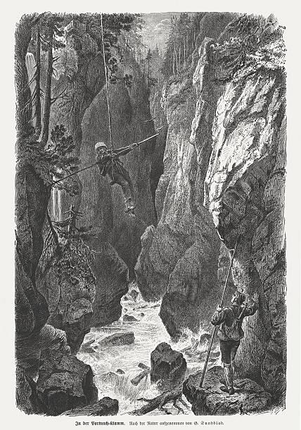 Partnach Gorge Clip Art, Vector Images & Illustrations.