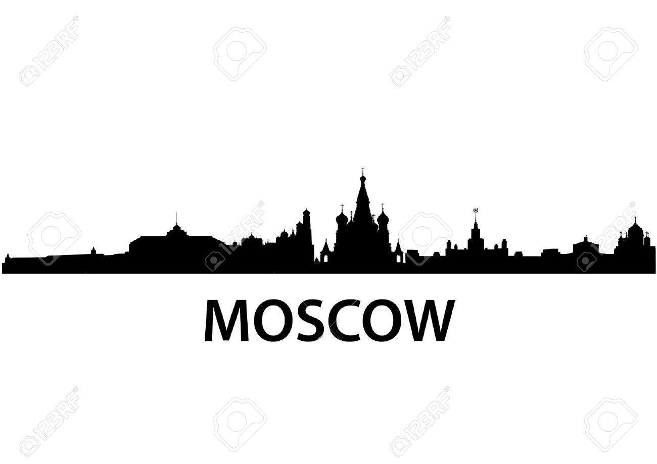 Detailed Vector Skyline Of Moscow Royalty Free Cliparts, Vectors.