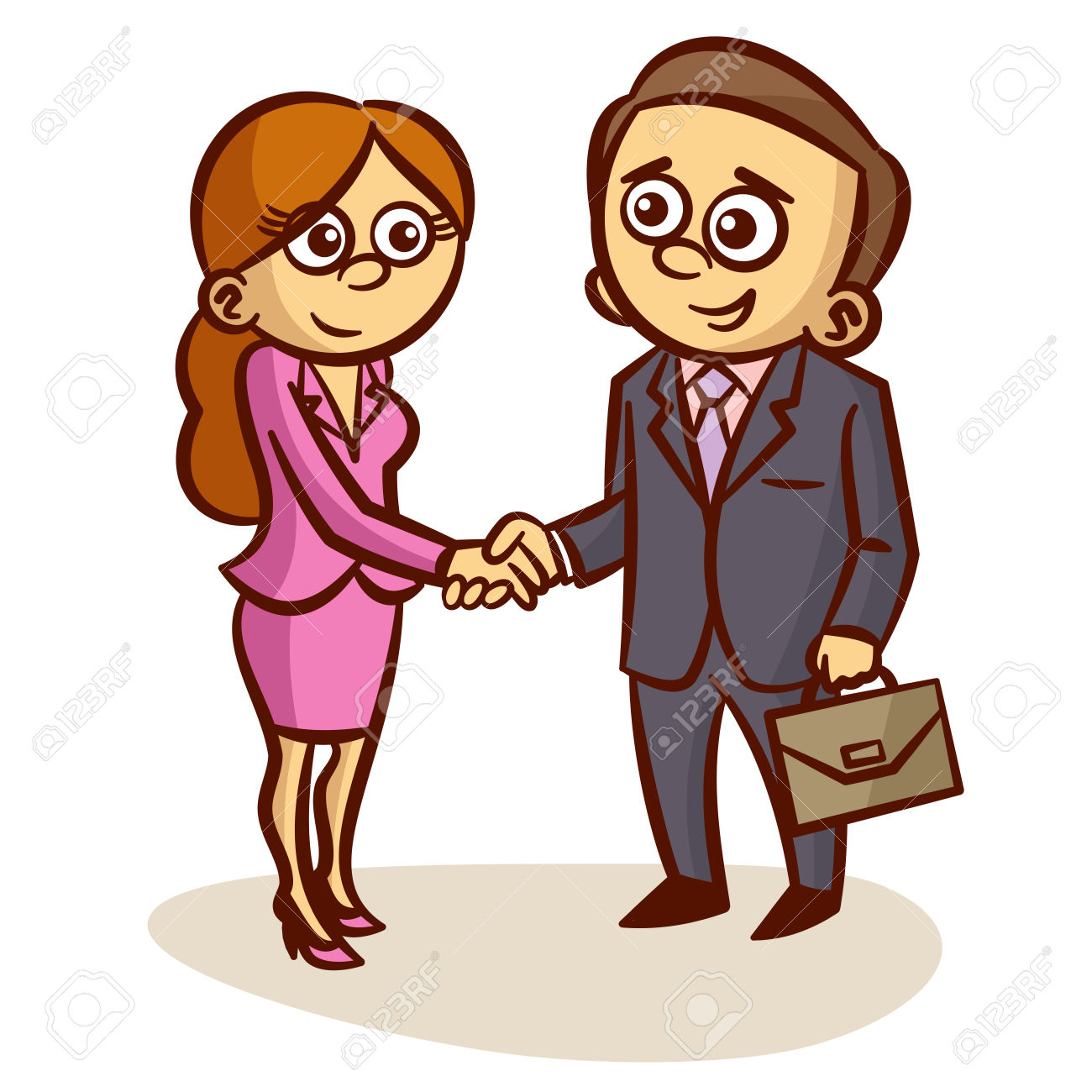 Business Partners Shaking Hands Partnership Clipart Royalty Free.