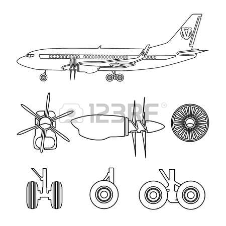 135 Turbojet Stock Vector Illustration And Royalty Free Turbojet.