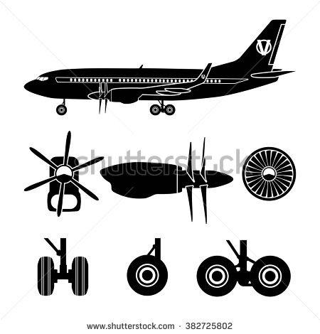 Aircraft Stock Vectors, Images & Vector Art.