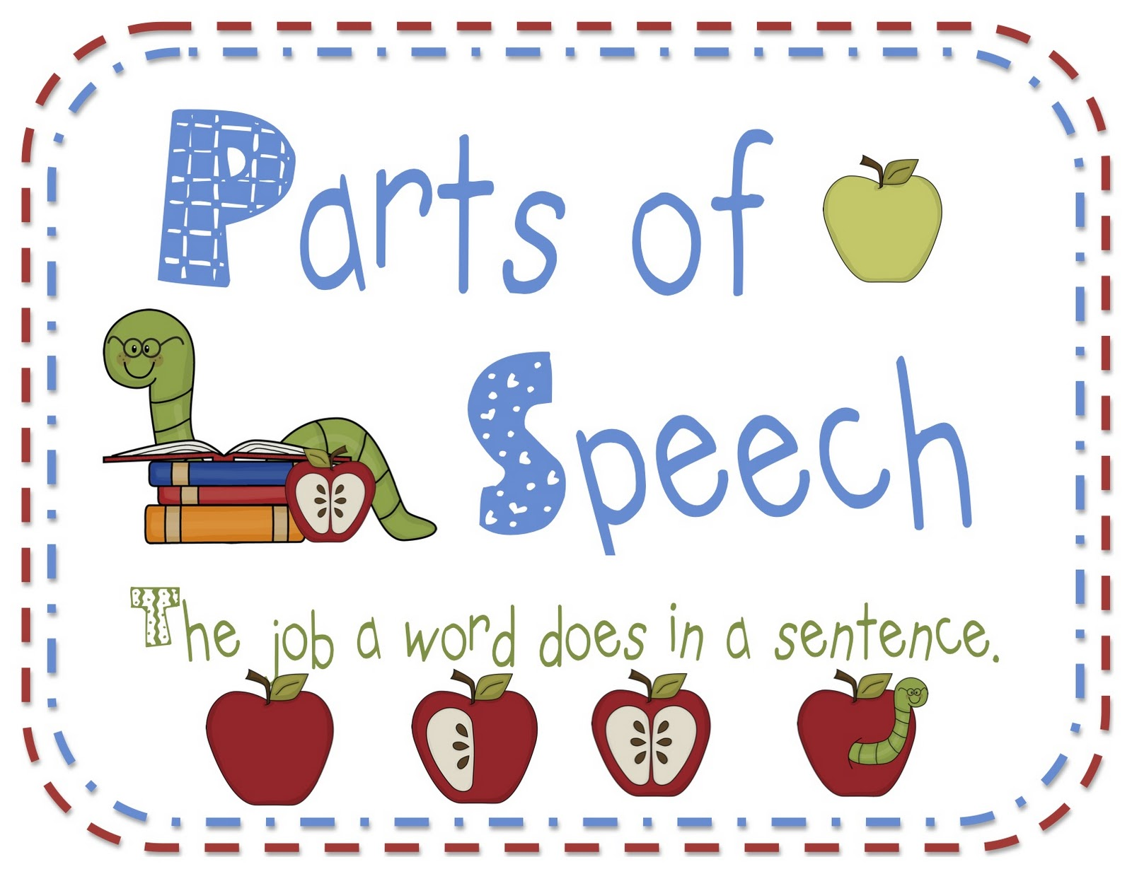 Quotes about Parts of speech (38 quotes).