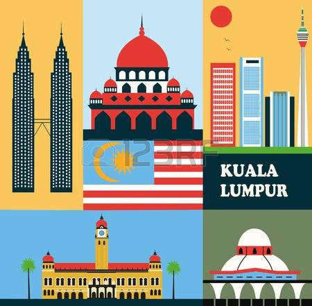 303 Kuala Lumpur Building Stock Vector Illustration And Royalty.