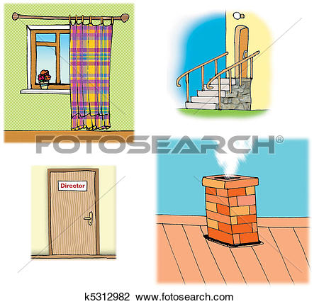 Drawings of house parts k5312984.