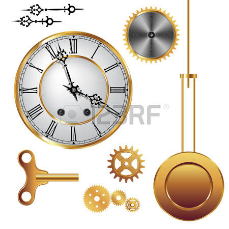 4,026 Clock Parts Stock Illustrations, Cliparts And Royalty Free.