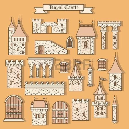 2,722 Fortress Wall Stock Illustrations, Cliparts And Royalty Free.