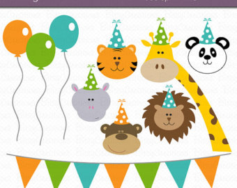 Party animal clipart.