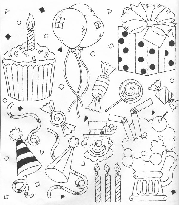 Clipart Party Theme by Verrilo on DeviantArt.