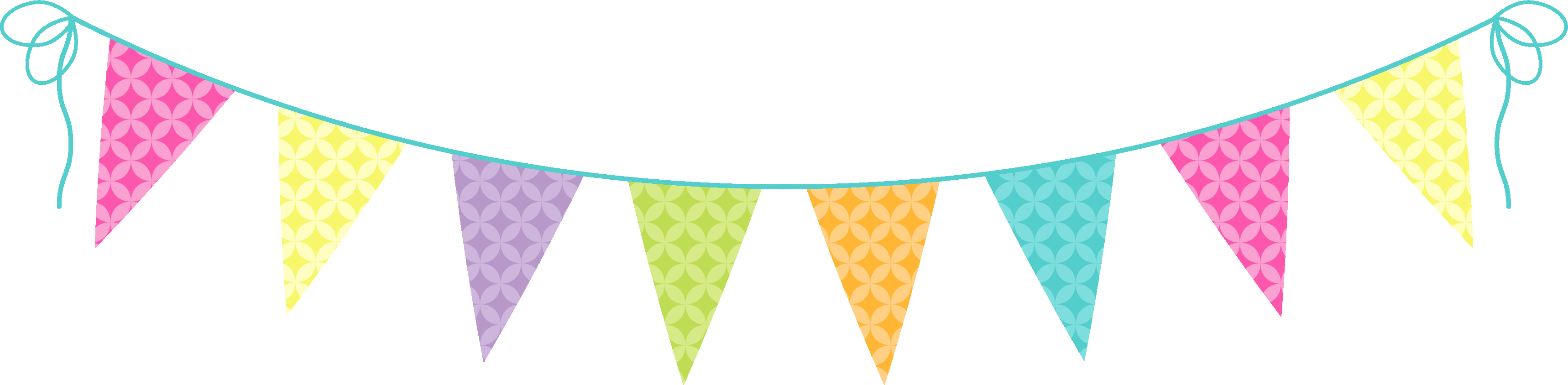 Party Banners Clipart.