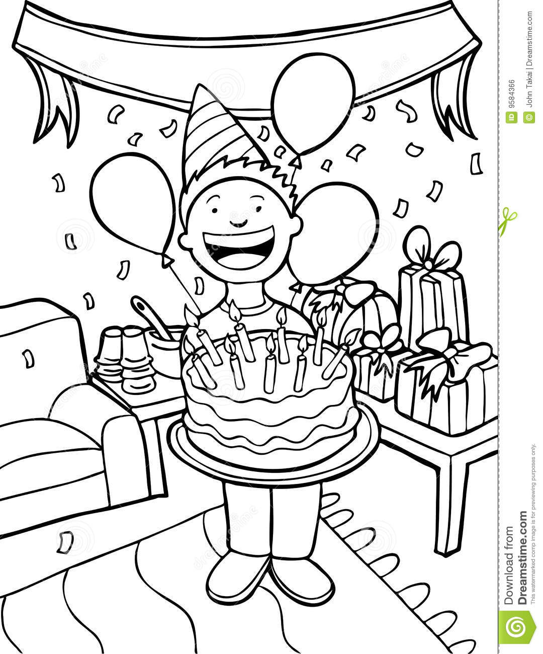 Free Party Clipart Black And White, Download Free Clip Art.