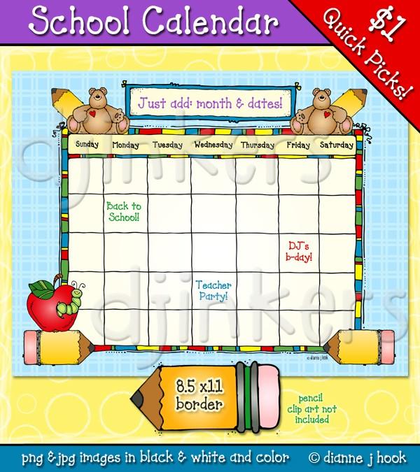 Calendar Clip Art Border : Party border clipart calendar jpeg clipground