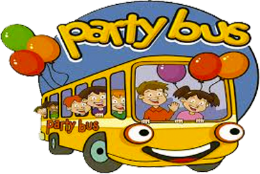 Bus clipart party bus, Bus party bus Transparent FREE for.