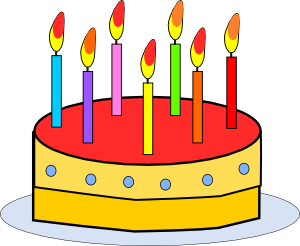Birthday Cake Clip Art at Clker.com.