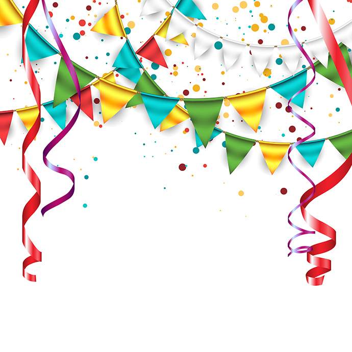 Clipart for free party celebration clipart clipart image 8 6.