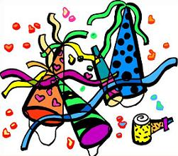 Free Party Favors Clipart.