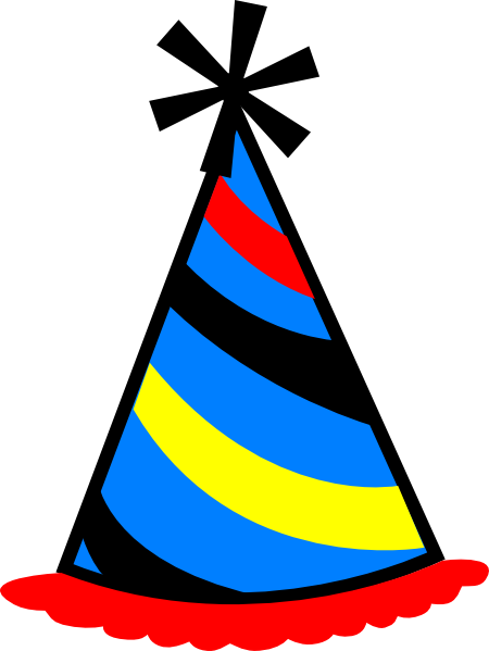 Birthday Hat Transparent Background.