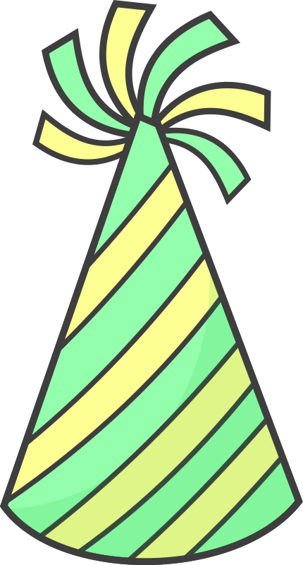 Free to Use & Public Domain Party Hats Clip Art.