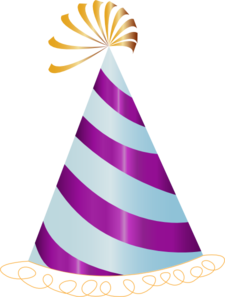 Party hat clipart png.
